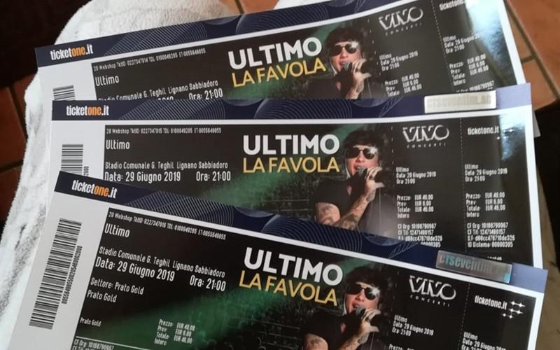 Ultimo - La Favola Tour