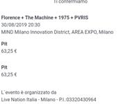 Florence + The Machine + 1975 + PVRIS