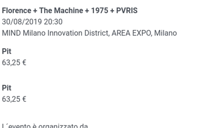 Florence + The Machine + 1975 + PVRIS